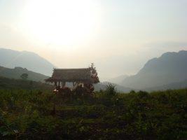 Schlafplatz Laotisch